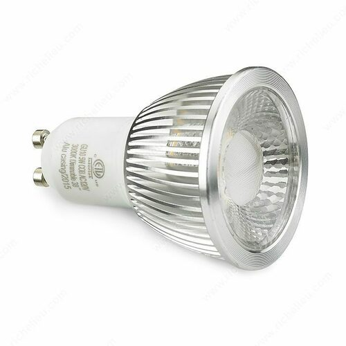 Richelieu 138122195 LED GU10 5W Warm White
