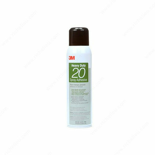 Richelieu 9807861 3M Series Heavy Duty 20 Aerosol Adhesive