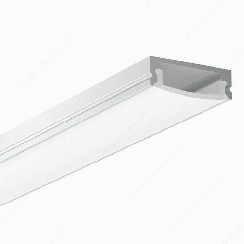 Richelieu 30141100 Low Aluminium Profile with Lens