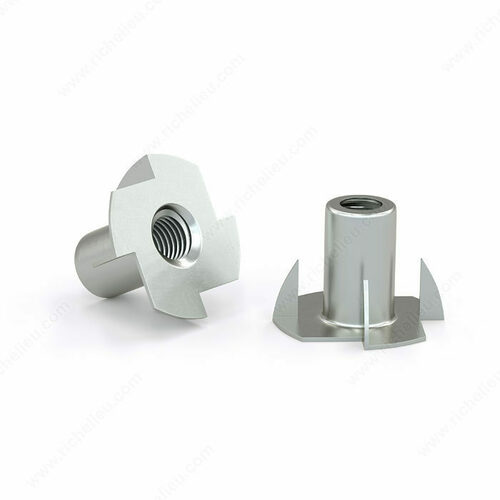Richelieu 26112 T-nut with Four Prongs - Zinc