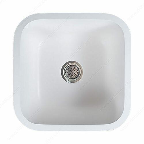 Richelieu GS1616SCR Gemstone Kitchen Sink - Single 1616