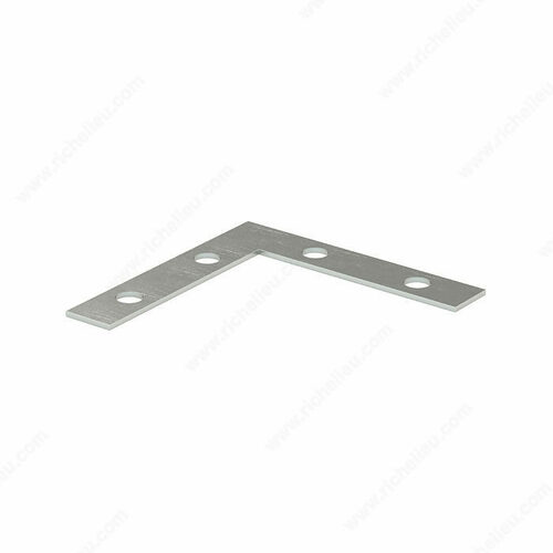 Richelieu 99X25B Flat Corner Plate