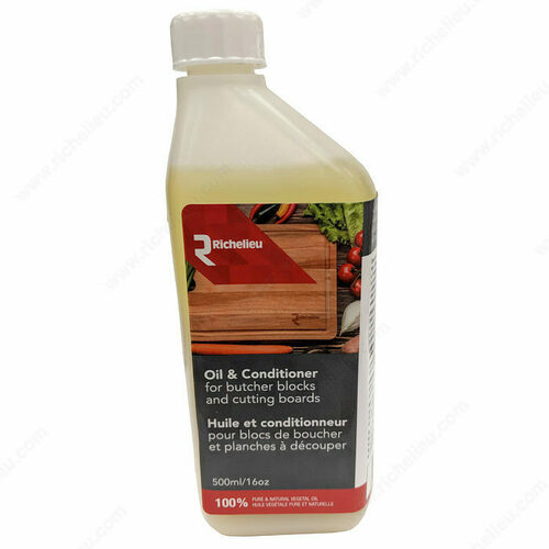 Richelieu 1050000 Oil and Conditioner for Richelieu Wood Surfaces