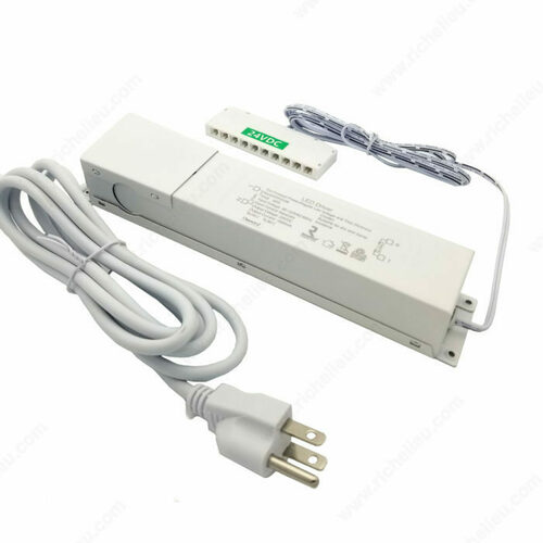 Richelieu DH2424 Dimmable Power Supply 24 V Hardwire