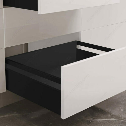 Richelieu WEBKIT1225272 OPTIMIZ-R Set for Drawers with Gallery Rails - 121 mm