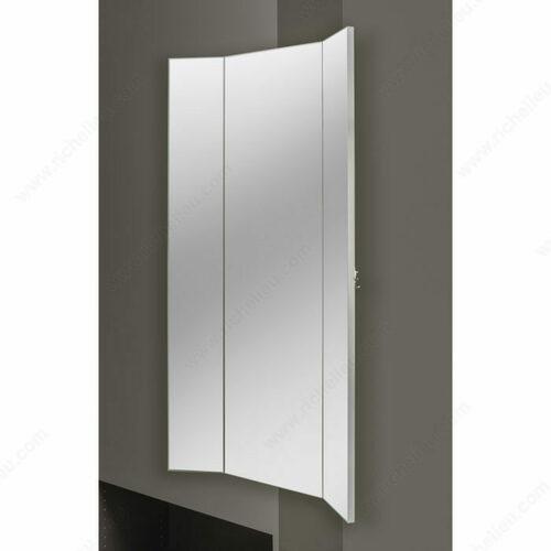 Richelieu CMTWSL1448SM1 Three-Panel Wardrobe Mirror
