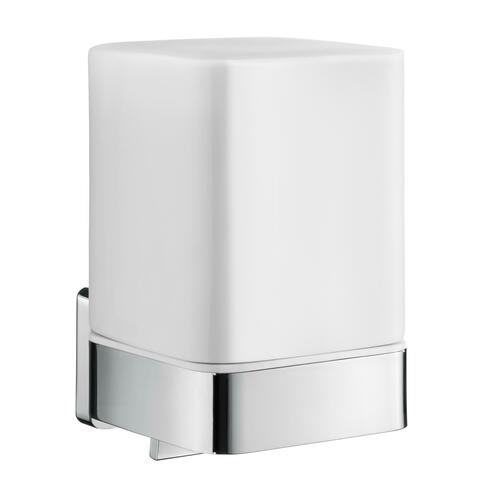 Smedbo OK461P Soap Dispenser Holder, Polished Chrome/Porcelain