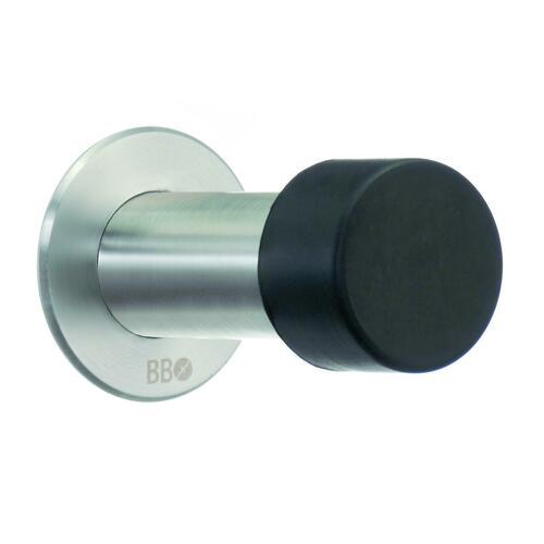 Smedbo BK148M Door Stop, Brushed Stainless Steel