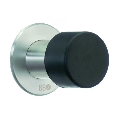 Smedbo BK147M Door Stop, Brushed Stainless Steel