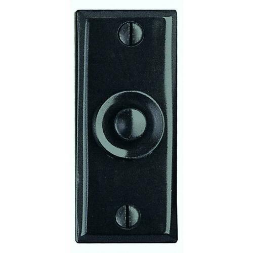 Smedbo B112 Door Bell, Black