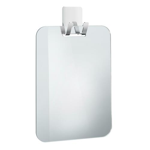 Smedbo FK620 Plastic Mirror for Shower with Hook