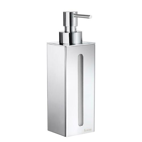 Smedbo FK257 Wall Mount Soap Dispenser with 1 container, Polished Chrome