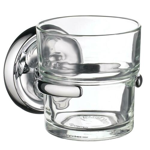 Smedbo K243 Holder with Tumbler, Polished Chrome