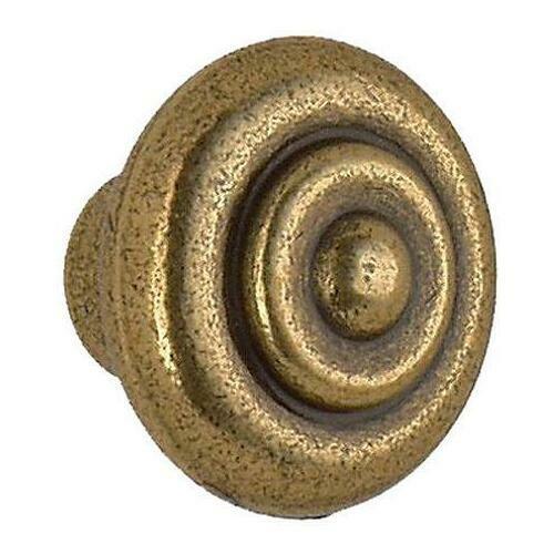 Smedbo B080 Swirl Knob, Antique Brass