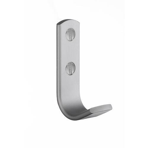 Smedbo B1043 Single Hook, Aluminium